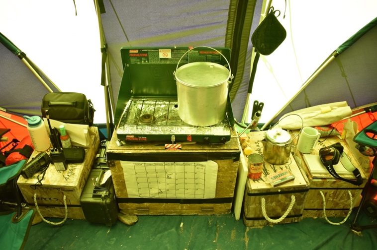 tent kitchen