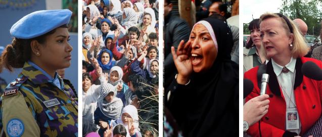 female peacebuilders