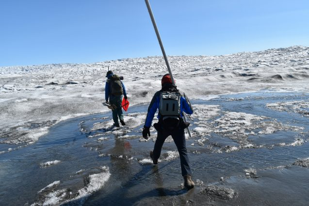 It's Raining on the Greenland Ice  In the Winter