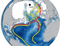 map of AMOC circulation pattern