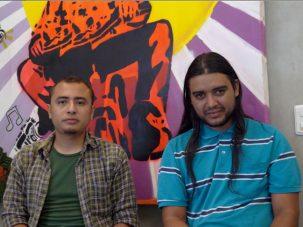 Andrés Peña and Alexis Aguvelo