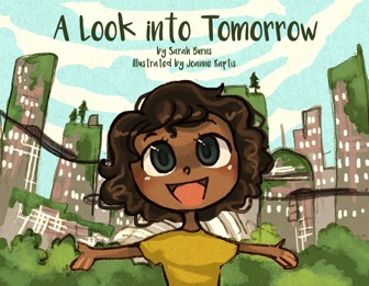 book cover a look into tomorrow