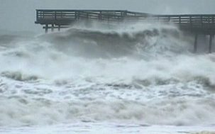 large waves from hurricanes