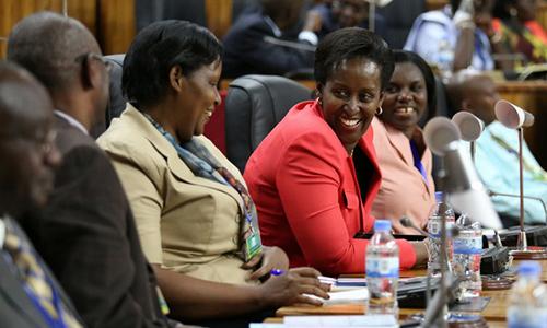 Rwandan women in government
