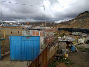 soccer field in peru