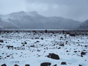hiking mullins glacier