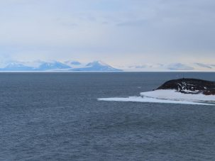 mcmurdo sound with no ice