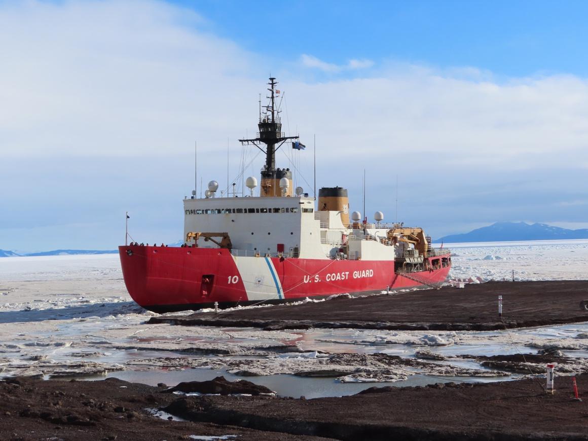 polar star docked