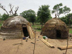 Fulani homes made of straw
