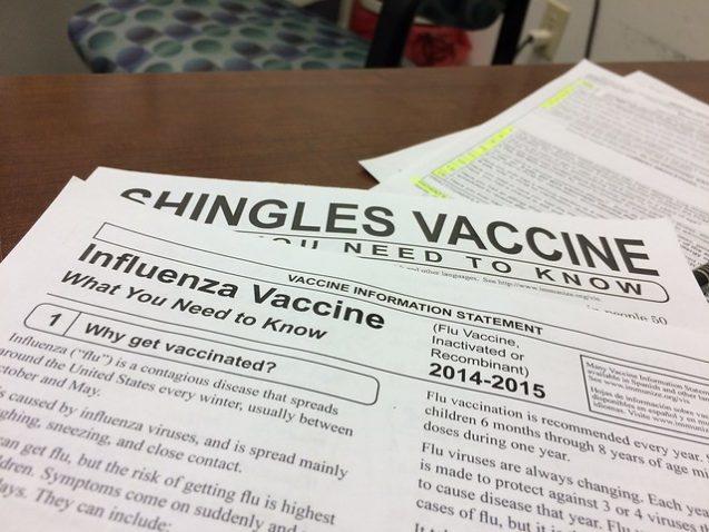 Vaccination paperwork