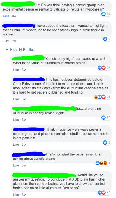 facebook discussion