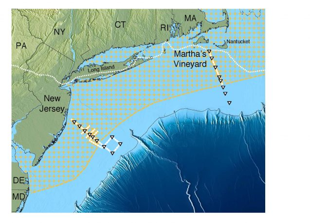 Scientists Map Huge Undersea Fresh Water Aquifer Off Us Northeast - Us-northeast-map