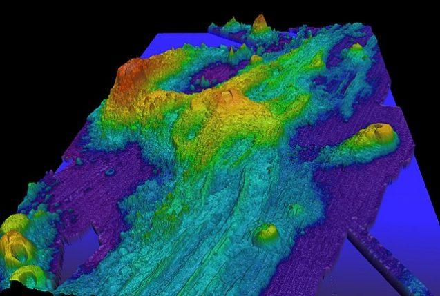 axial volcano map