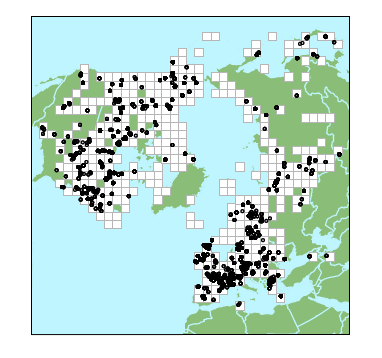 Map peatland measurements in the northern hemisphere