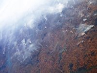 smoke from amazon rainforest firest
