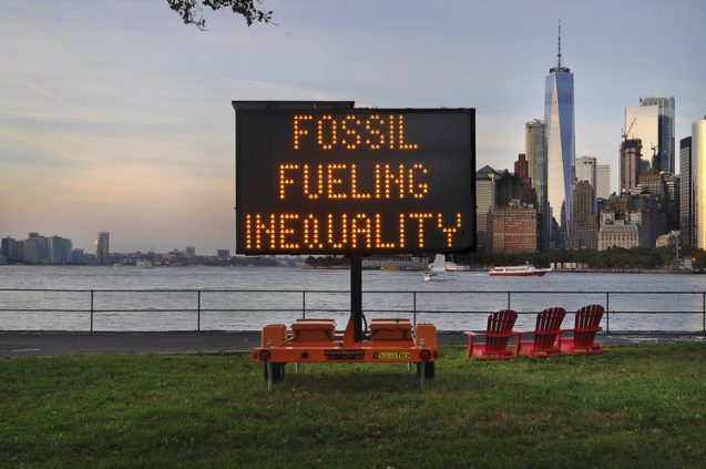 climate signals sign about fossil fuels