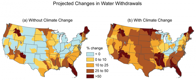 map of future water withdrawals in the us