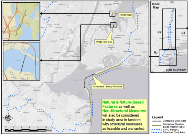 map of potential storm surge barriers