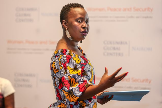 Martha Mutisi, co-facilitator for the Peace and Social Change workshops in Nairobi.