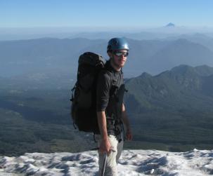 Volcanologist Yves Moussallam