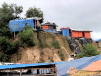 Assessing Landslide Risk in Rohingya Refugee Camps