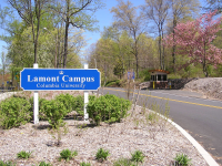 entrance to lamont-doherty earth observatory