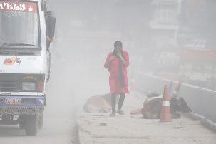 Air pollution in Nepal. Skanda Gautam