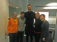 running club group photo