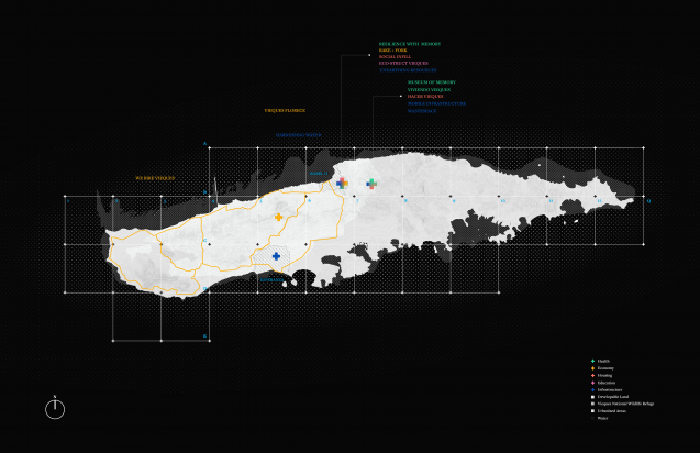 map of vieques