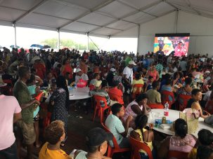 people at a creole festival