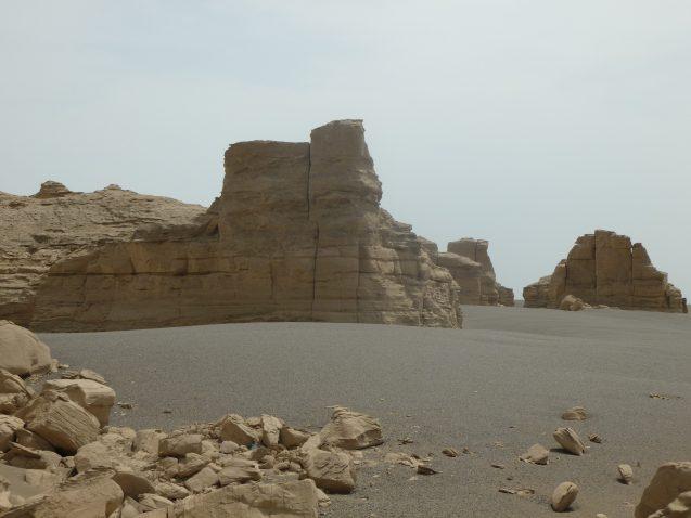 Hami basin landscape