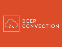 logo for deep convection podcast