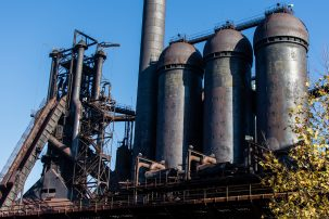 Carrie Furnaces in Rankin, PA