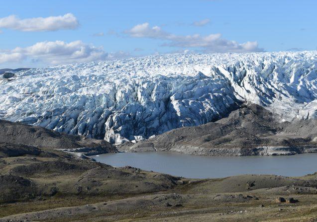 edge of greenland ice sheet