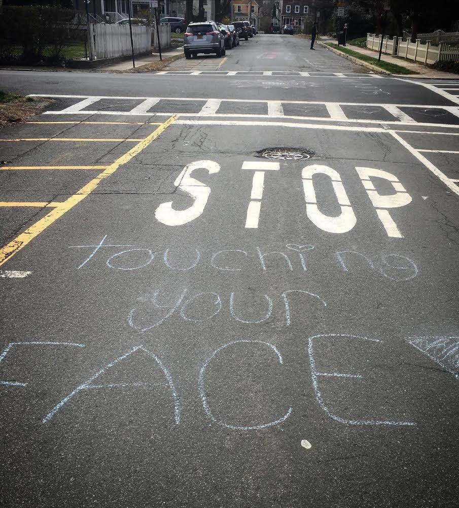 Nicole Davi Street Chalk Art