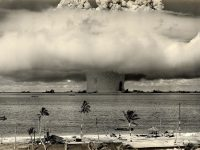 explosion at bikini atoll