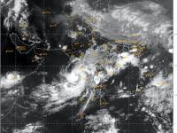 Satellite imagery of Nisarga
