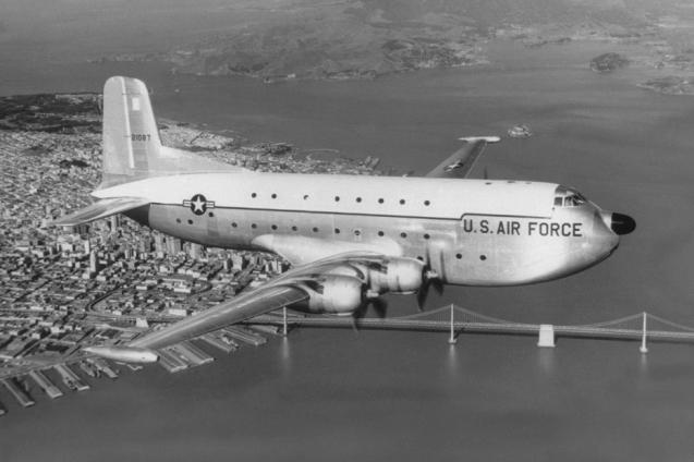 Douglas C-124 Globemaster II airplane
