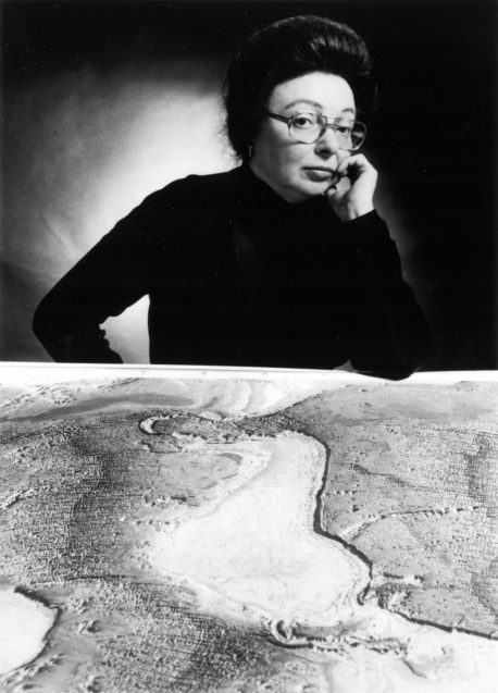 marie tharp and map