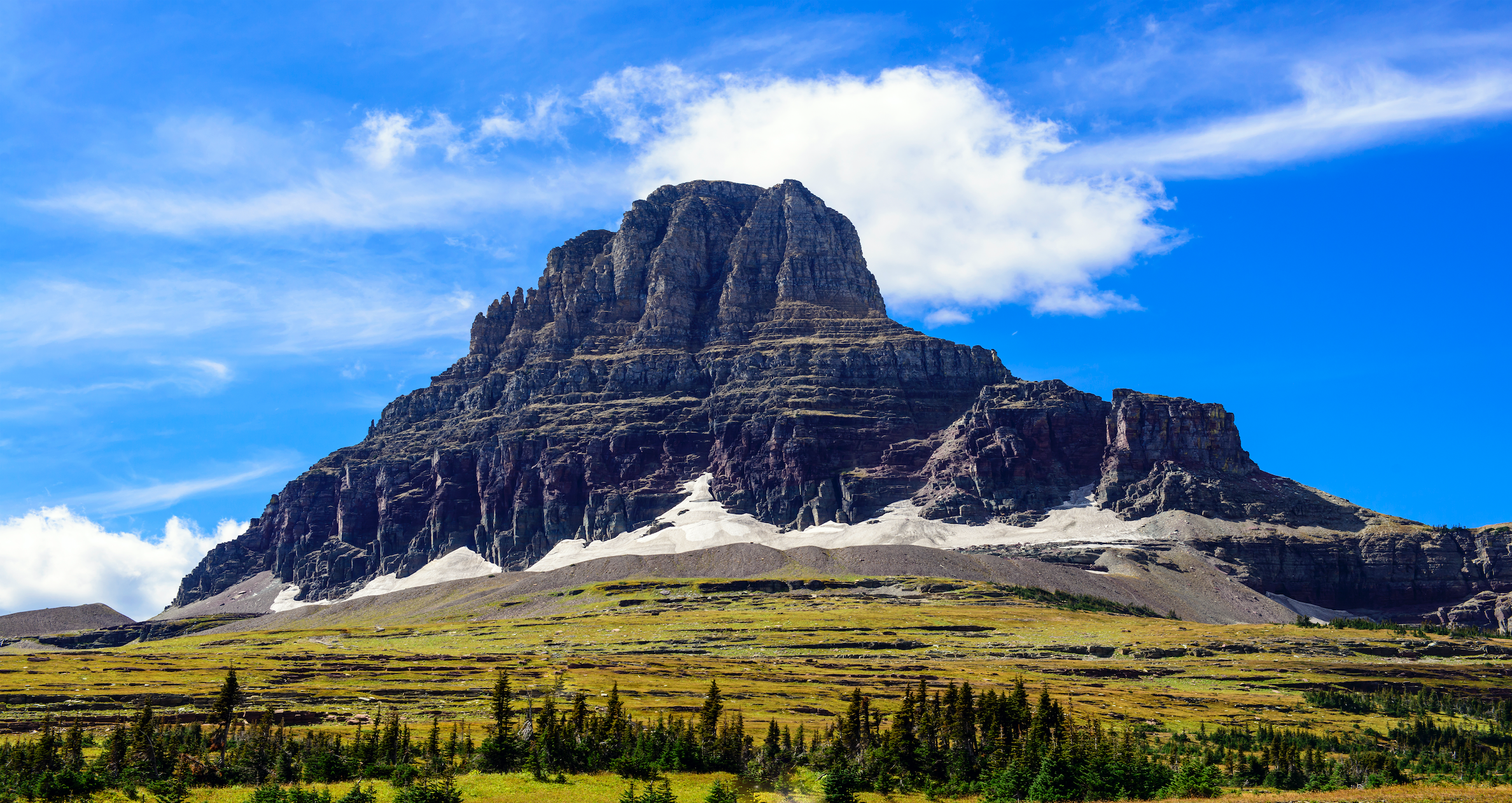 scene from glacier national park