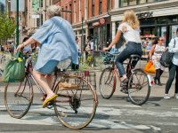 bicyclists in nyc