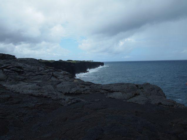 hawaiian island and ocean