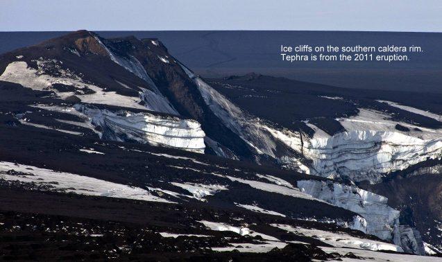 grimsvotn caldera wall