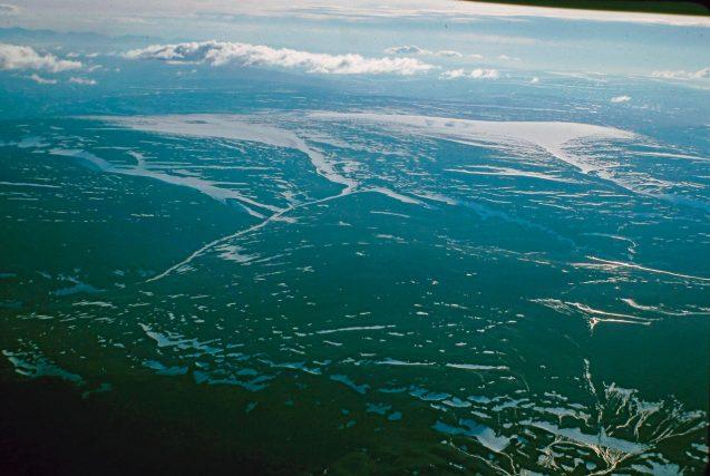St. Patrick Bay ice caps