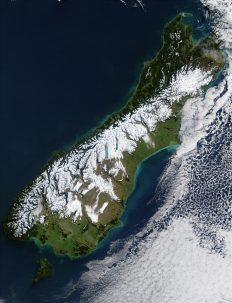 southern alps alpine fault