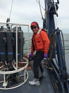 galen mckinley on research vessel