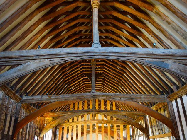 inside a medieval hall