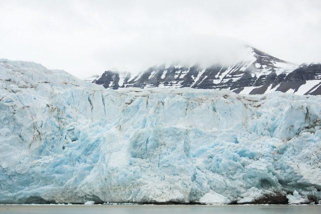 Big Nordenskioldbreen Glacier on Svalbard