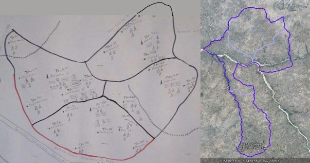 comparison of two maps