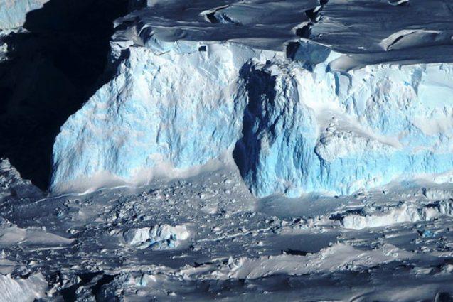 glacier front